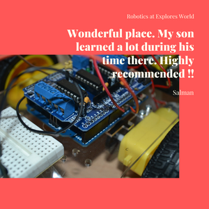 Online tutor taught course: Smart World Robotics - make electronics projects (pay hourly)