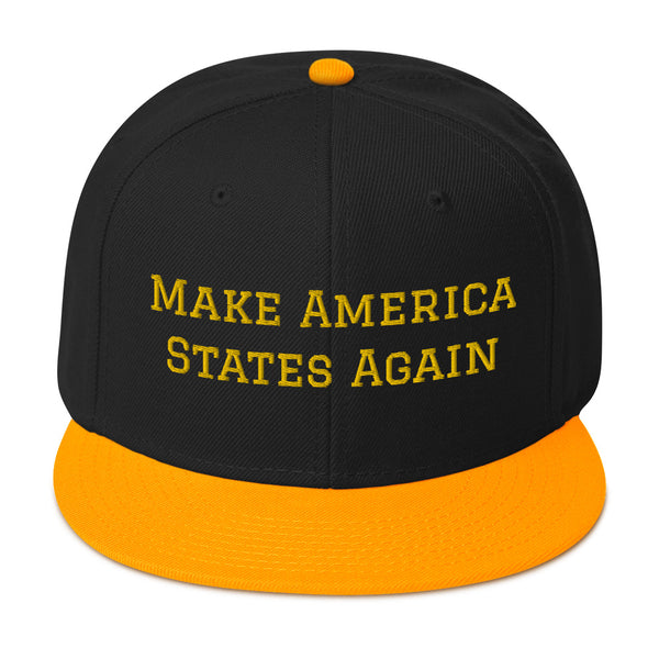 Make America States Again Snapback Hat