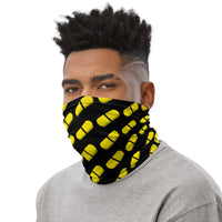 Gold Pill Neck Gaiter