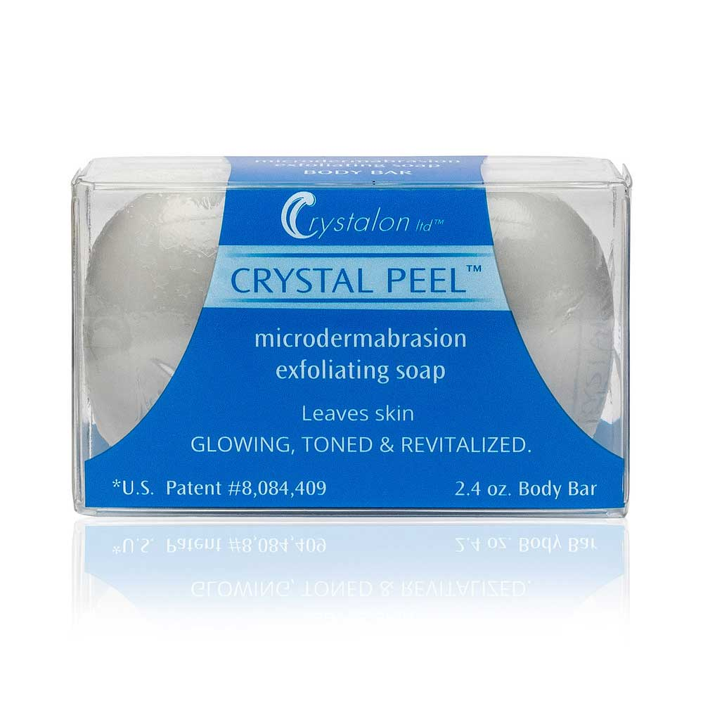 CRYSTAL PEEL Microdermabrasion Exfoliating Soap Bar