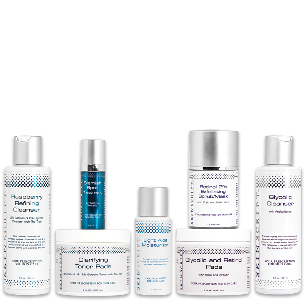 Moderate Acne Skin Kit -SkinScriptRX