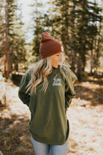 "Hemp Long Sleeve ""Find Your Haven"" T-Shirt"