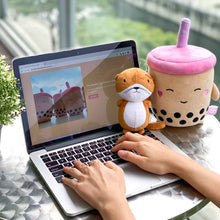 Load image into Gallery viewer, Boba Bae x Otah the Otter Plushie