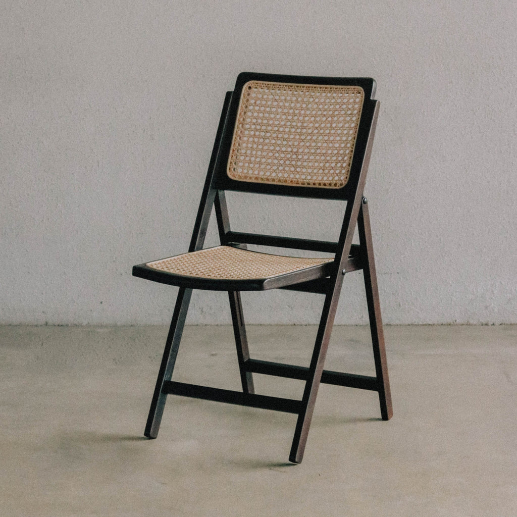 Pauline Foldable Chair — Espresso