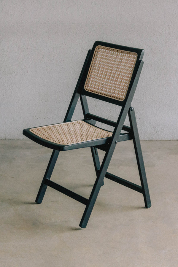 Pauline Foldable Chair — Black