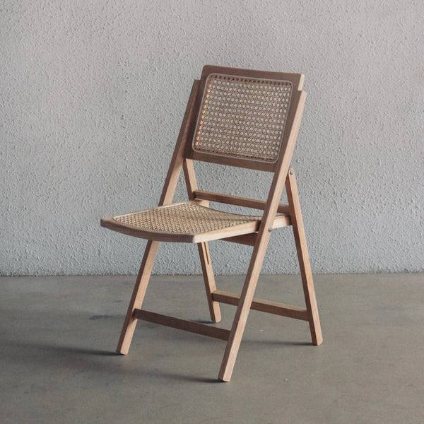 Pauline Foldable Chair — Natural
