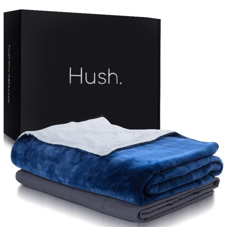 The Hush Weighted Throw Blanket Bedding