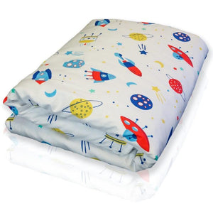 Hush Kids - The Childrens Weighted Blanket Spaceship / Kid 38X54 5Lb Bedding