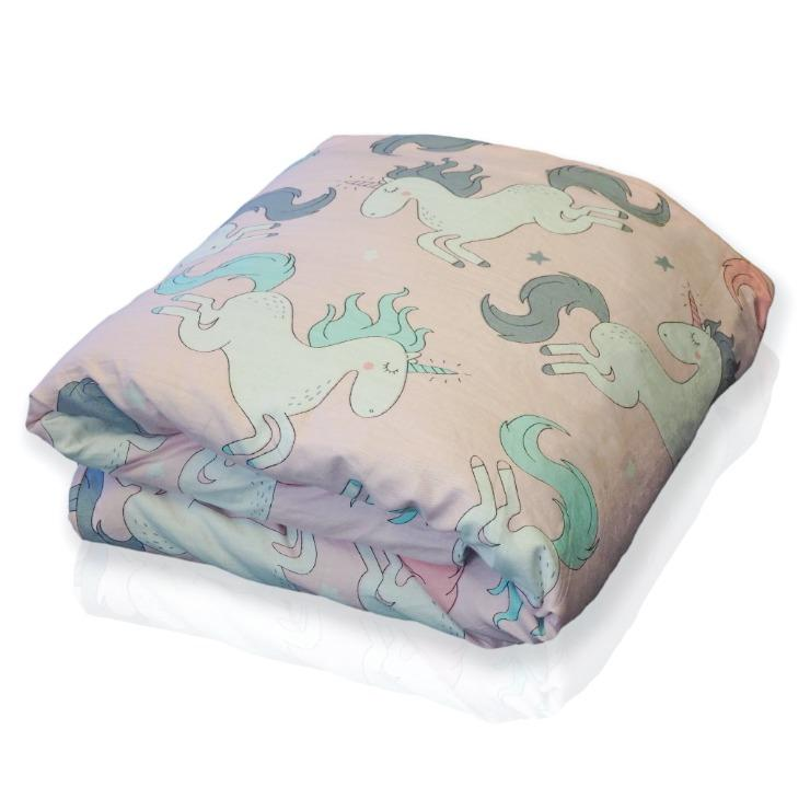 Hush Kids - The Childrens Weighted Blanket Kid 38X54 / Unicorn 5Lb Bedding