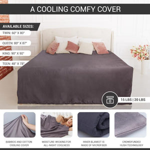 Hush Iced 2.0 - The Original Colling Weighted Blanket Bedding