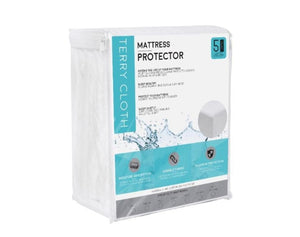Terry Cloth Mattress Protector Twin Bedding Protectors