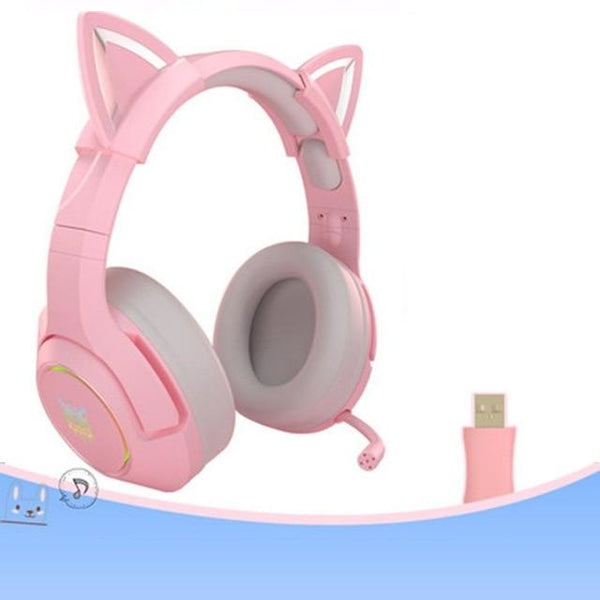 Casque gamer oreille de chat