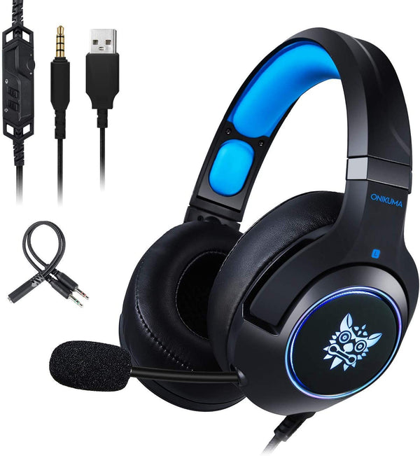 Casque gamer PS4 compatible PC