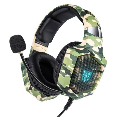 CASQUE GAMER PS4 CAMOUFLAGE
