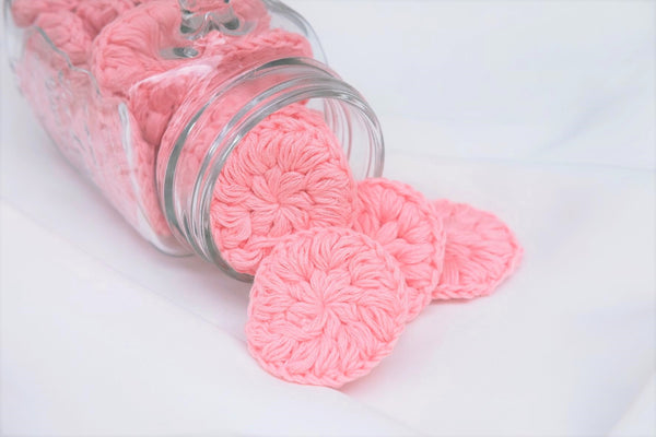 Crochet Facial Scrubbies (set of 3)