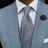 Bassin and Brown Purple Chrysanthemum Flower Jacket Lapel Pin