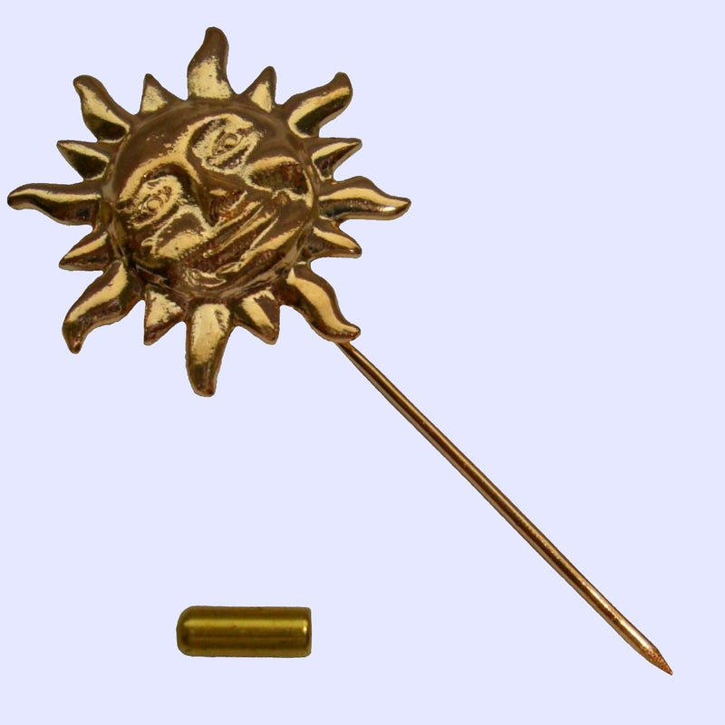 Bassin and Brown Sun Gold - Lapel Pin