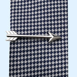 Bassin and Brown Silver Arrow Tie Bar
