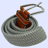 Bassin and Brown Grey Woven Belt