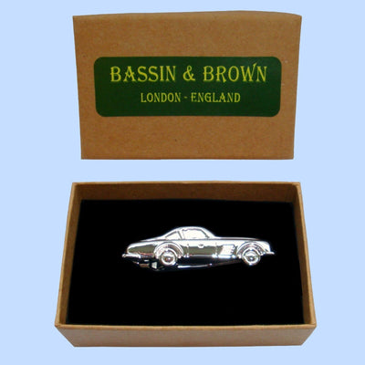 Bassin and Brown Silver Motor Car Tie Bar