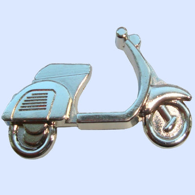 Bassin and Brown Silver Scooter - Keyring