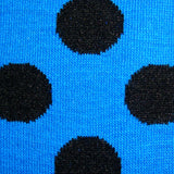 Bassin and Brown Spotted Socks Blue/Black