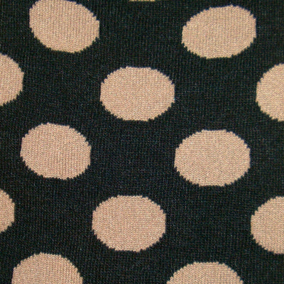 Bassin and Brown Spotted Socks Black/Beige