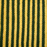 Bassin and Brown  Green and Yellow Vertical Stripe Cotton Socks