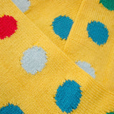 Bassin and Brown Yellow Spot Cotton Socks
