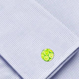 Bassin and Brown - Lime Fruit Cufflinks - Green