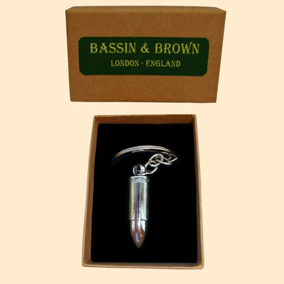 Bassin and Brown Silver Bullet Keyring