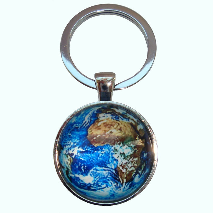 Bassin and Brown Earth Keyring - Blue/Green