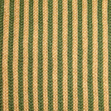 Bassin and Brown Green/Beige Vertical Stripe Cotton Socks
