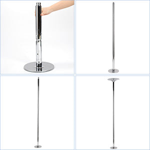 fitness dance pole stainless steel