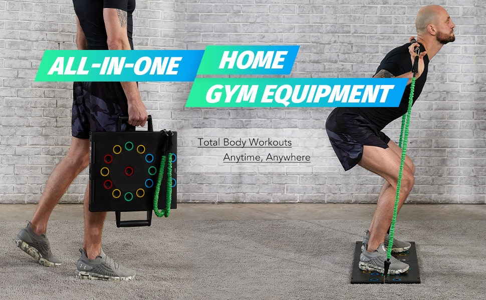 portable gym workout package