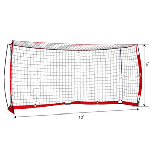 12x6 ft Soccer Goal for Backyard Practice