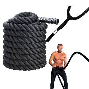 "Battle Ropes for Strength Workout and Conditioning 1.5"" 50ft"