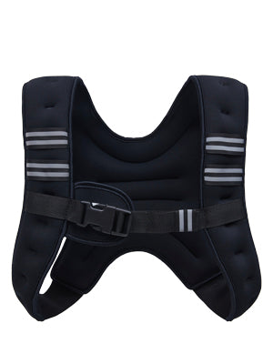 Weighted Vest for Strength Training and Running 4lbs Black