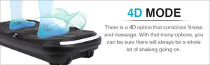 Whole 4D Body Workout Vibration Platform
