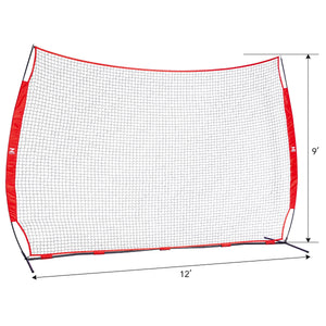 Collapsible Barricade Backstop Net