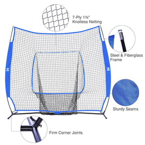 baseball softball batting hitting net