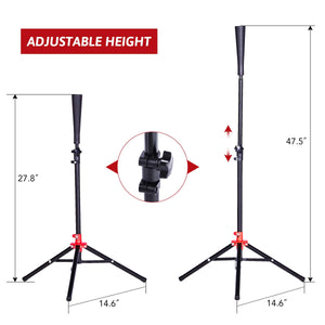 Height Adjustable Baseball Softball Tripod