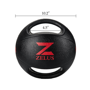10 lb weighted exercise ball with handles