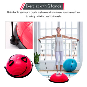 balance ball home workout