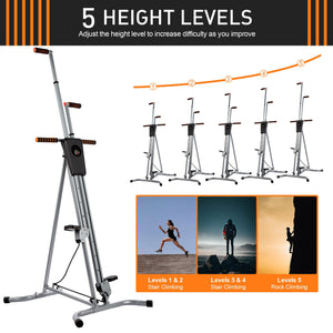 vertical step climber adjustable