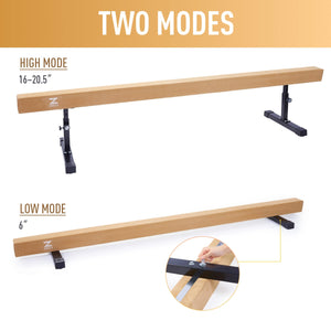 balance beam adjustable height