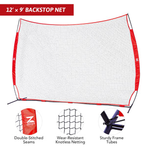 Flexible Baseball Practice Net