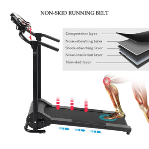 compact treadmill home gym