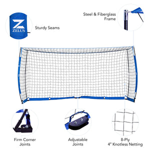 Soccer Net Set Up
