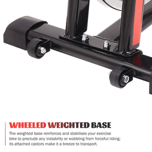 bike wheel stationary bike